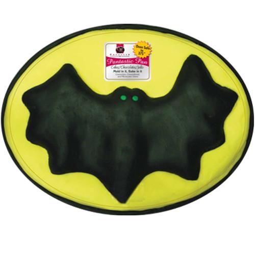 Plastic Bat on Oval Cake Pan