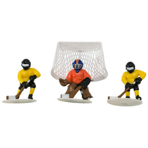 Face Off Hockey Player Cake Topper Set