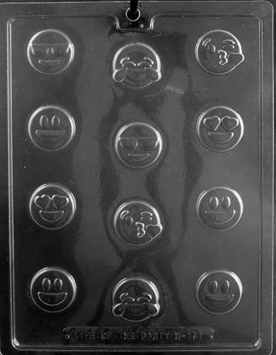 Assorted Emoji Chocolate Mold