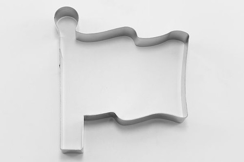 Flag with Pole Cookie Cutter