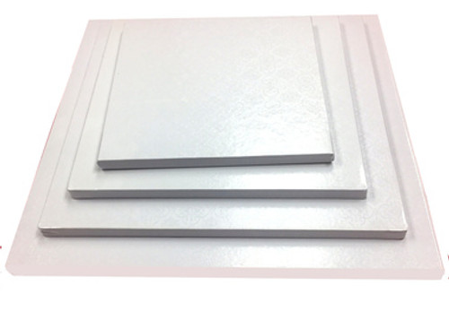 Cake Boards White - Square Thick ( Drum )