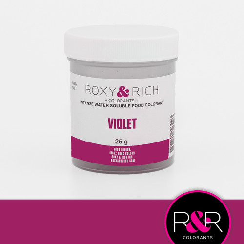 Violet Water Soluble Powder Color