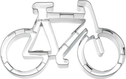 Bicycle Impression Cookie Cutter