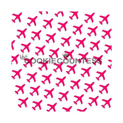 Airplane Cookie Stencil