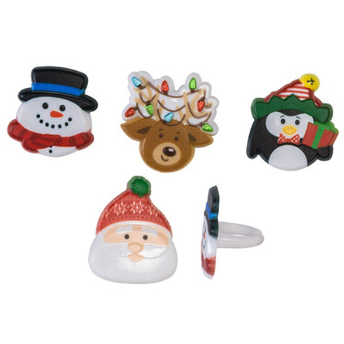 Holiday Icon Cake and Cupcake Toppers