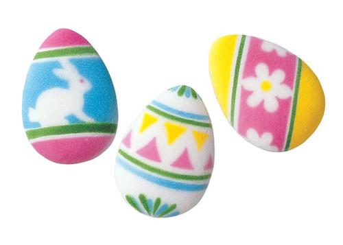 Decorative Easter Eggs Dec Ons Assorted