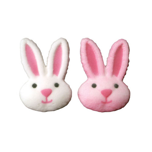 Sweet Bunny Faces Pressed Sugars