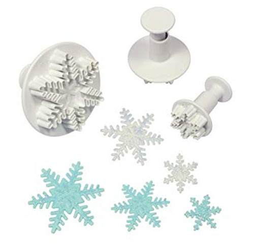 Snowflakes Mini Plunger Cutter