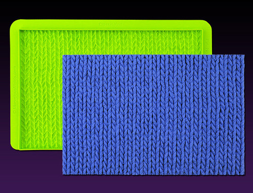 Classic Knit Silicone Mold