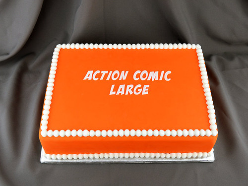 Action Comic Large Silicone Mold