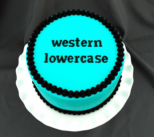 Western Lowercase Letters Lowercase Silicone Mold