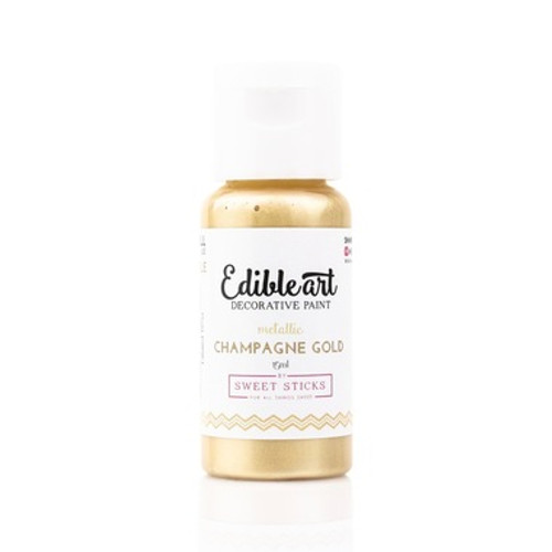 Edible Art Metallic Champagne Gold 15ml