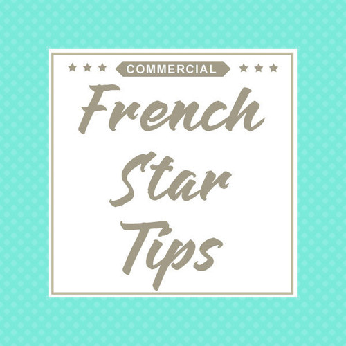 Commercial French Star Piping Tips for Cake Decorating