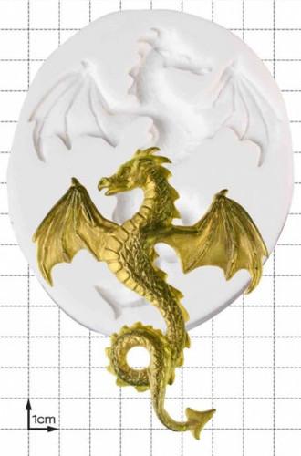 Flying Dragon Silicone Mold