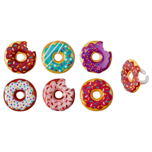 Donut Cake and Cupcake Toppers