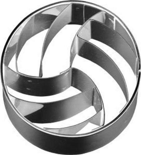 Volleyball Impression Cookie Cutter