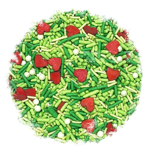 Who Stole Christmas Sprinkle Mix
