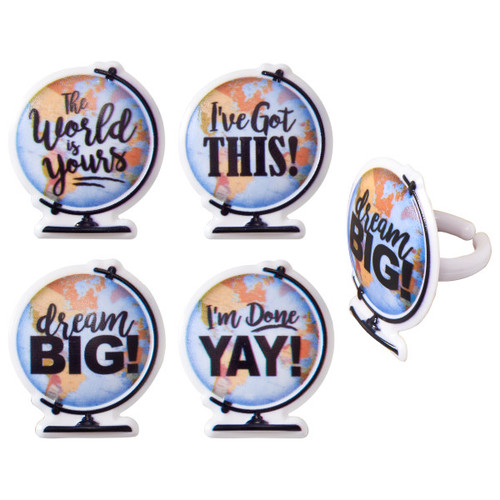 Dream Big Cake and Cupcake Toppers