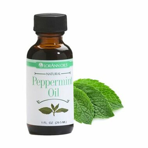 Peppermint Oil Natural Flavoring 1 oz