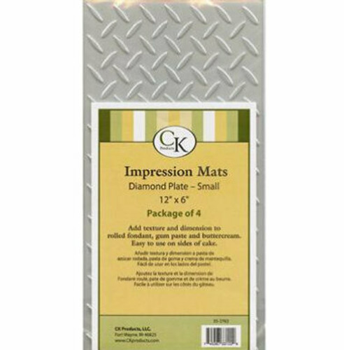 Diamond Plate Small Impression Mat for Cake Decorating