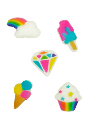 Rainbow Party Assorted Pressed Sugars