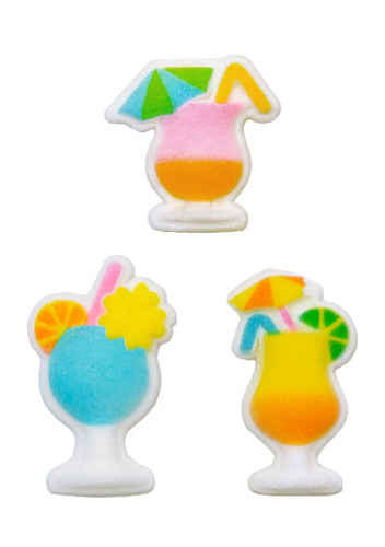 Tropical Drinks Assortment Pressed Sugars