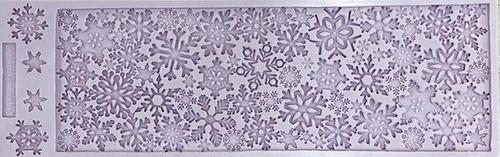 Sugar Snowflakes Silicone Mold