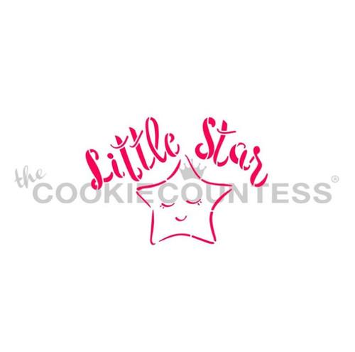 Little Star Cookie Stencil