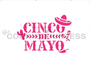 Cinco De Mayo with Icons Cookie Stencil