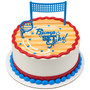 Volleyball Cake Topper (3 pc)