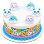 Kawaii Character Cake and Cupcake Toppers (6 pc)