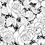 Fleur Mesh Cake Stencil