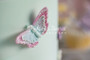 Brush Embroidery Butterflies Silicone Mold