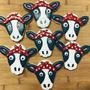 Cow Face Cute Cookie Cutter
