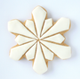 "Snowflake Geometric 4"" Cookie Cutter"