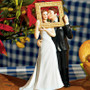 ''Picture Perfect '' Wedding Cake Topper