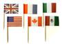 International Flags Cake Pics