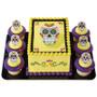 Dia De Los Muertos Cake and Cupcake Toppers