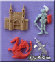 Medieval Silicone Mold Assorted