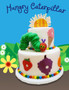 Cake featuring Hungry Caterpillar Cake Topper