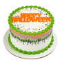Happy Halloween Sayings Drip Cake Topper