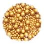 Gold Sugar Pearls
