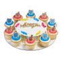 New Years Cake and Cupcake Toppers