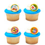Crayon Cake or Cupcake Toppers