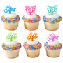 Celebration Sayings Cake and Cupcake Toppers
