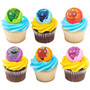 Ugly Doll Cake and Cupcake Toppers