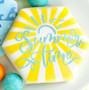 Sunburst Cookie Stencil