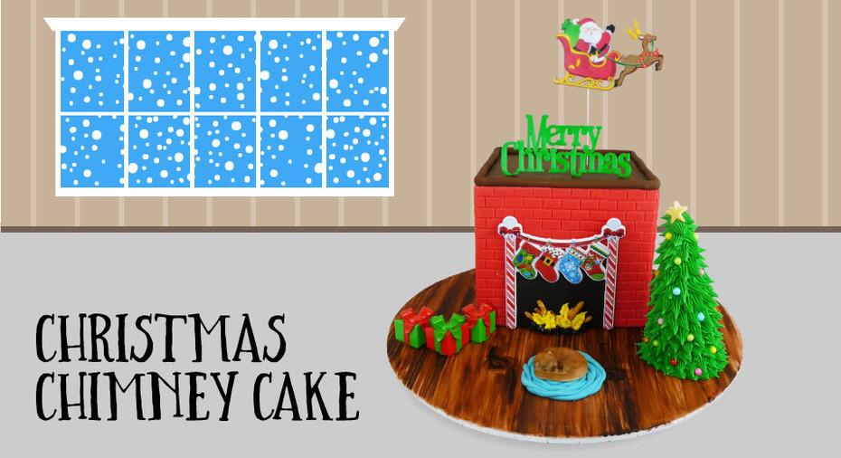 Christmas Chimney Cake