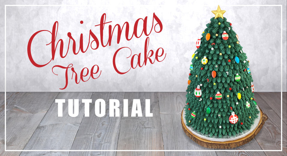 Christmas Tree Cake Tutorial