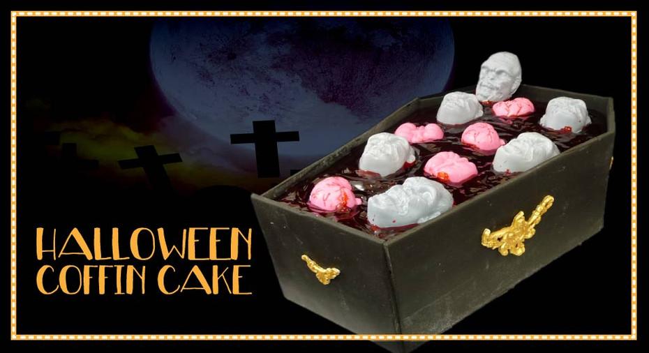 Halloween Coffin Cake